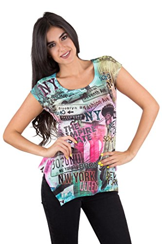 new york graphic tops for women - 8