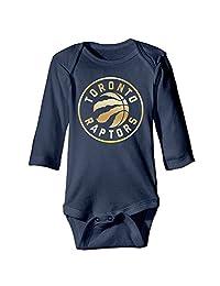 Baby Boys' Toronto Raptors Gold Logo Romper Jumpsuit Playsuit Outfits