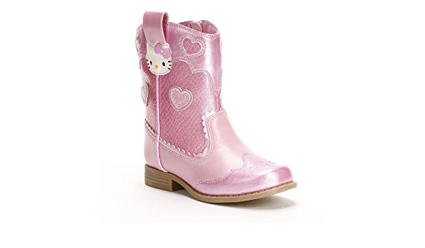 Hello Kitty Pink AceCowboy Boots