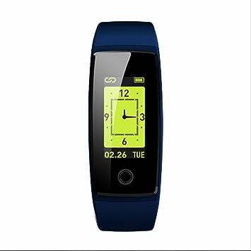 Brazalete Inteligente deportivo Monitor de ritmo cardíaco Reloj Inteligente Deportivo con Pulsómetro Podómetro Fitness Tracker con Recordatorio de Llamada y ...