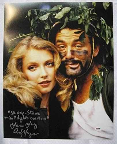 Cindy Morgan Signed Caddyshack 16x20 Inscribed Lacy Underall Photo Autograph PSA/DNA w/ COA w/ OC Dugout Hologram A -