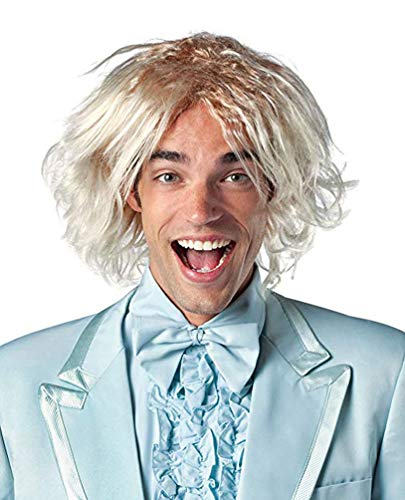 Rasta Imposta Dumb and Dumber Harry Dunne Wig Costume, Blonde, One -