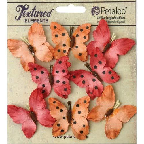 お待たせ! Petaloo Butterflies Spice Darjeeling Teastained Butterflies (8 (8 Pack), 1.5, Spice by PETALOO B00UY0XG2U, あおい 正直問屋:0af74e92 --- mvd.ee