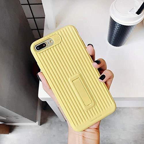 iPhone 7 8 Plus Case iPhone Case iPhone 8 Plus iPhone X 8 Plus Case iPhone 8 Plus Phone Case Waterproof Dirtproof Best iPhone 8 Plus Case Eco Phone Case iPhone 8 Plus Dot (Yellow, iPhone 8 Plus) ()