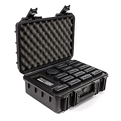 CasePro CP-DJI-INSPIRE-2-BT DJI Inspire 2 Battery Carry Case, Black from CasePro