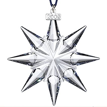 Swarovski 2009 Annual Edition Christmas Ornament - Amazon.com: Swarovski 2009 Annual Edition Christmas Ornament: Home