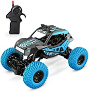 DEERC DE32 RC Cars Remote Control Monster Trucks for Kids 1/20 Scale 2.4GHz Racing Toy Trucks with Rechargeable Battery,RC C