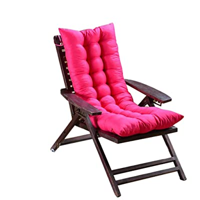 "Emptystar Chair Covers - The Gripper Non-Slip Rocking Chair Cushion(15.7"" 47.2"") for Indoor/Outdoor Garden Patio Home Kitchen Office Car Sitting Home Decor (Hot Pink) : Industrial & Scientific"