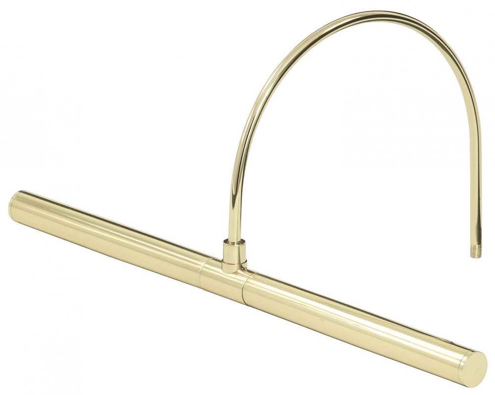 APL16-61 Profile LED 2W 3000K 140-Lumen Picture Light, Polished Brass Finish