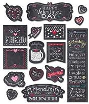 Chalk It Up! Chalk Hearts Mini Bulletin Board