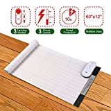 Pet Shock Mat - 60 x 12 Inches Pet Training Mat Scat Mat for Cats Dogs, 3 Training Modes Pet Shock Pad, Indoor Use Dogs Cats Training Mat for Sofa w/LED Indicator, Intelligent Safety Protect