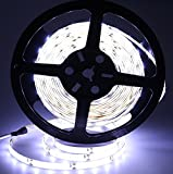 Eway SMD2835 Waterproof 12V Strip Light, 300 Units 2835 LEDs, 5 Meter (Pure White)