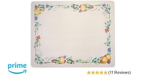 Corelle 20 X 16 Abundance Counter Saver Tempered Glass Cutting Board 92016ABDH