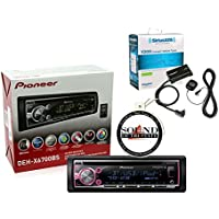 Pioneer DEH-X6700BS CD Receiver w/ Aux USB Bluetooth Remote and SiriusXM Tuner and Antenna included