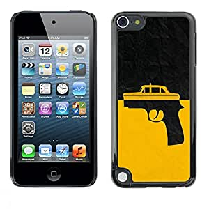 Estuche Cubierta Shell Smartphone estuche protector duro para el teléfono móvil Caso Apple iPod Touch 5 / CECELL Phone case / / Taxi Gun Taxi Driver /