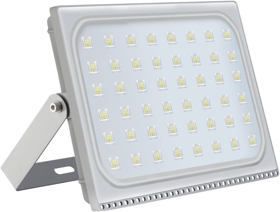 4X 500W Slim Super Power LED Flood Light Warm White Indoor Outdoor Security