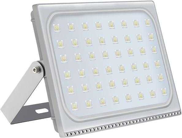 Foco proyector LED 300W para exteriores, resistente al agua IP65, luz de seguridad,Diseño ultraligero ultrafino: Amazon.es: Hogar