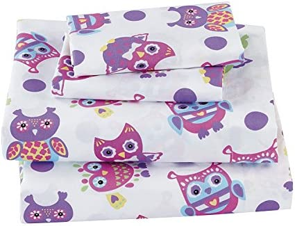 Fancy Collection Sheet Purple Yellow