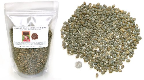 Sumatra Lintong Arabica, Unroasted Green Coffee Beans (3 LB)