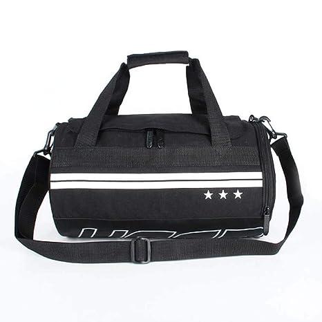 FHGJ Waterproof Shoulder Sports Gym Bag for Shoes Bags Women Fitness  Handbags Training Men 40693b172fc3f