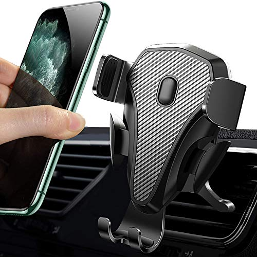 Air Vent Phone Mount for Car, DWH Car Phone Holder Mount Compatible with 12/12mini/11Pro/Xs/Xr/X/8/8P/7/7P/6/6P/Note S8/S9/S10/LG/Pixel 3 XL & All Phones