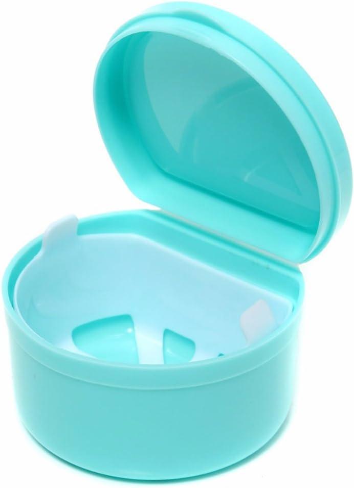 SUPVOX Caja para Ortodoncia Protesis Dental Dentadura Postiza Estuche para Retenedores Dentales con filtro (Color aleatorio): Amazon.es: Salud y cuidado personal