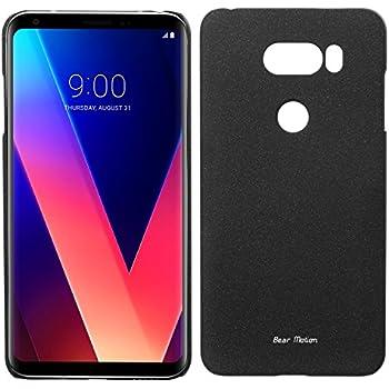 Slim Case for LG V30 - Bear Motion Premium Slim Back Cover for LG V30 (Black)
