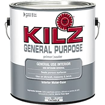 Kilz 2 Multi Surface Stain Blocking Interior Exterior Latex Primer Sealer White 1