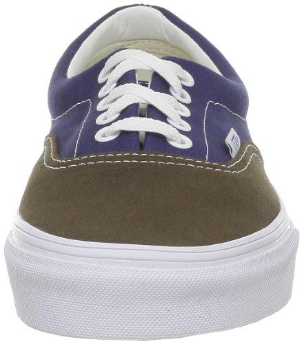 Hombre Brown Azul Vintage Skateboarding Era Marrón Zapatillas de Vans IaB8M