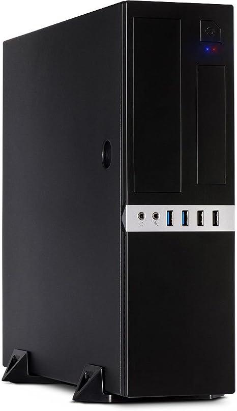 Inter-Tech IT-503 Carcasa de Ordenador Mini-Tower Negro - Caja de ...