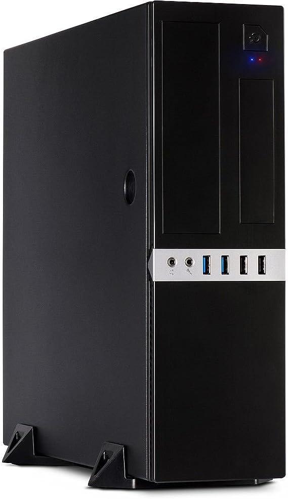 Inter-Tech IT-503 Carcasa de Ordenador Mini-Tower Negro: Amazon.es: Electrónica