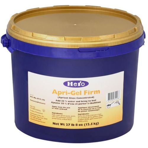 Hero Concentrated Firm Aprigel Glaze, 27.5 Pound -- 1 each. by Hero