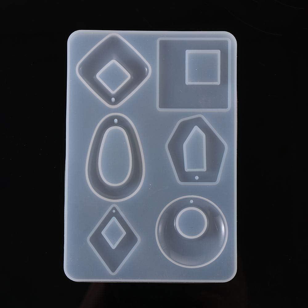 Stampo in silicone per orecchini con cristalli epossidici UV Beyonday Fashion