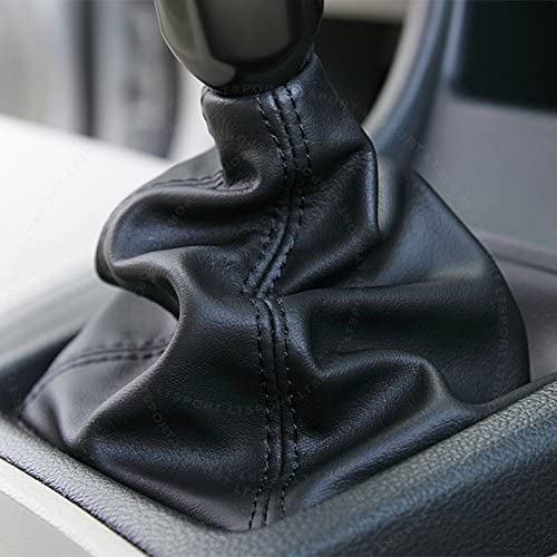 LT Sport 00842148178797 for Nissan 350Z//Altima//Frontier//GT-R//370Z Black Shift Knob Boot Cover