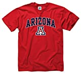 Campus Colors Arizona Wildcats Adult Arch & Logo Gameday T-Shirt - Red, X-Large