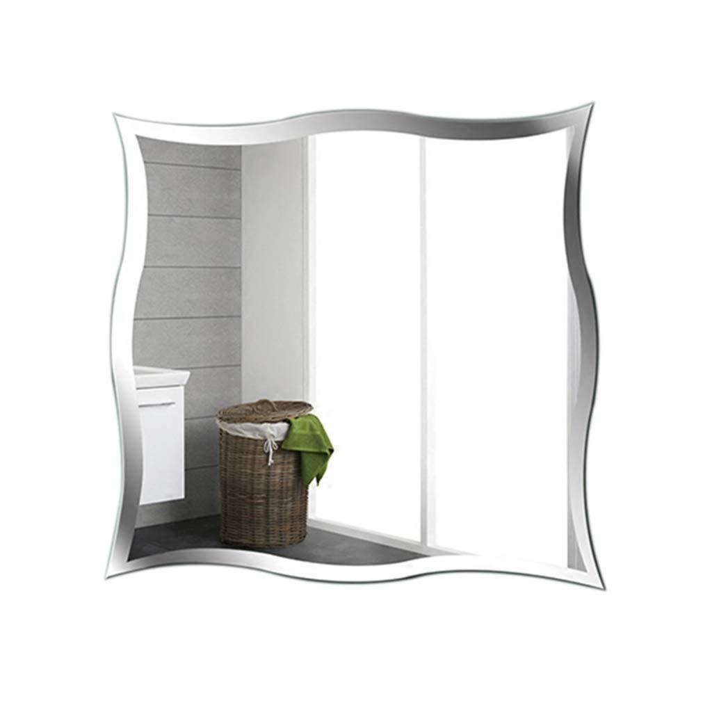 驚きの価格 SXLL鏡 シンプルな壁掛け鏡防水浴室装飾洗面化粧鏡 (サイズ さいず SXLL鏡 : : 60*60cm) 60*60cm B07L2S9B44 B07L2S9B44, タオルショップ ブルーム:1ddc75a7 --- svecha37.ru