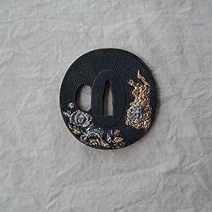 Japanese Samurai Sword Koshirae – Tsuba Alloy 009