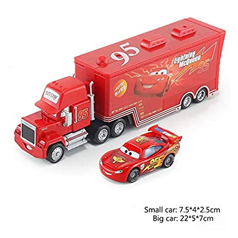 0da60136be492 Amazon.com: Pixar Cars 2 2pcs Lightning McQueen City Construction ...