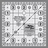 "Creative Grids Basic Range 4"" Square Quilt Ruler (CGRBR1) by Creative Grids"
