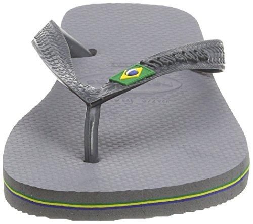 Havaianas Flip Flops - Havaianas Brasil Flip Fl ... Lysegrå