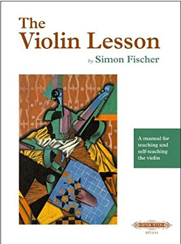 The Violin Lesson by Simon Fischer (Violin Practice Notebook)