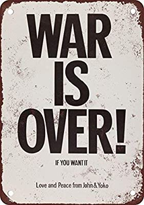 Toddrick 1971 John Lennon Yoko ONO War is Over Cartel de ...