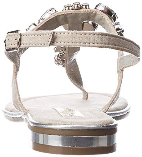 Bout Sandales Hielo hielo Ouvert Xti 030661 Gris Femme 65wEEZ