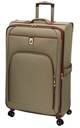London Fog Cambridge 29 Inch Expandable Spinner, Olive