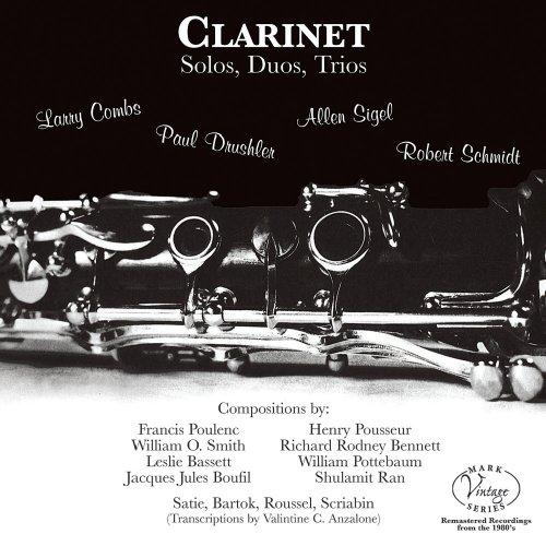 Clarinet Solos, Duos, Trios