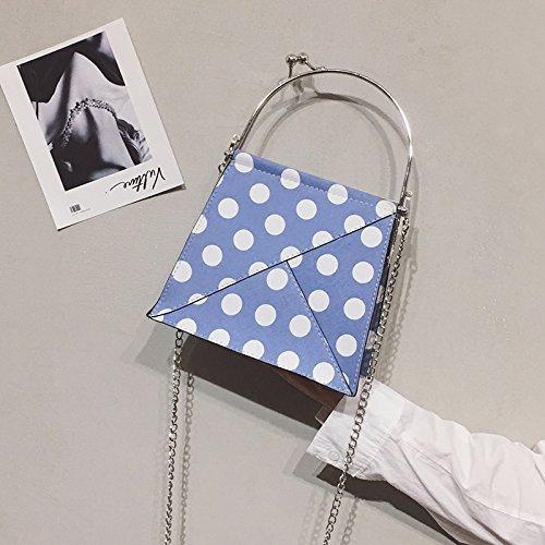 en WSLMHH carré Mignon nbsp;Été Sac Bleu bandoulière Petit Portable épaule 0wr0Cqp