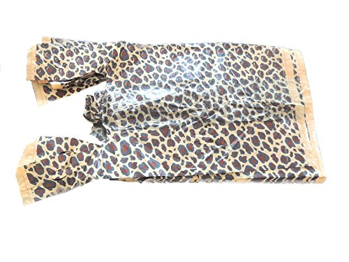 11-x-21-w-5-gusset-leopard-plastic-t-shirt-bags-w-handle-t-shirt-retail-bags-100-pack