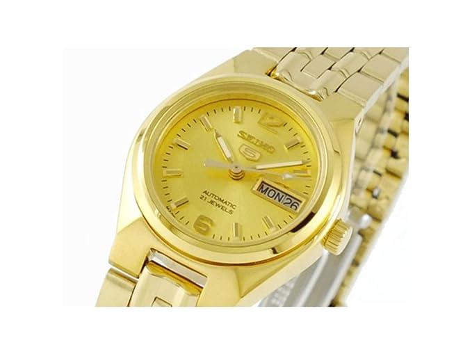 Seiko – SYMK36 K1 – Reloj Mujer – automático – analógica – pulsera acero inoxidable oro
