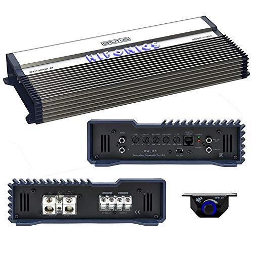 Hifonics BXX3000.1D Brutus Class D 3000W RMS 1 Ohm Mono Car Subwoofer Amplifier (Amp Amplifier 3000 Mono Watt)