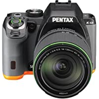 Pentax K-S2 SLR lens kit w/18-135mm WR balck/orange 20 MP Weatherized Wi-Fi/NFC Enabled SLR Camera, Body Only (Black/Orange)
